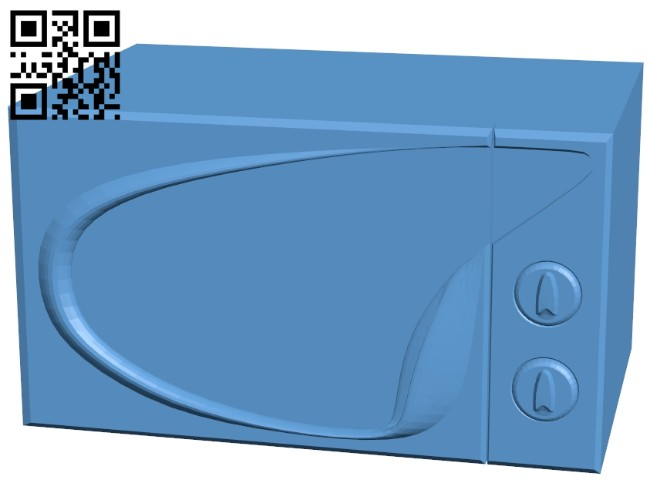 Microwave B008459 file stl free download 3D Model for CNC and 3d printer