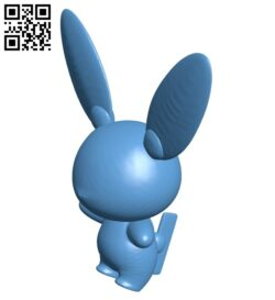 Minun – pokemon B008570 file stl free download 3D Model for CNC and 3d printer
