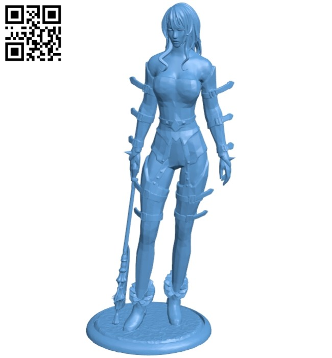 Miss Elvira B008390 file stl free download 3D Model for CNC and 3d printer