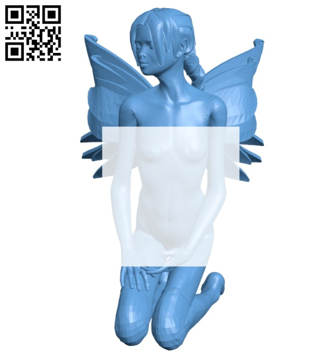 Miss Fairy B008380 file stl free download 3D Model for CNC and 3d printer