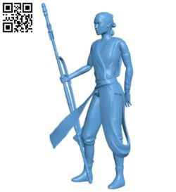 Miss Rey B008563 file stl free download 3D Model for CNC and 3d printer