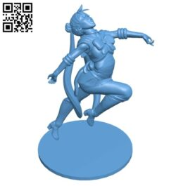 Miss Sailor Moon B008521 file stl free download 3D Model for CNC and 3d printer