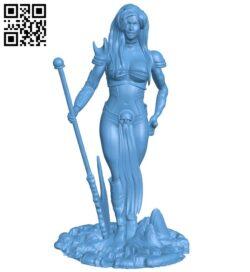 Miss Sophitia B008481 file stl free download 3D Model for CNC and 3d printer