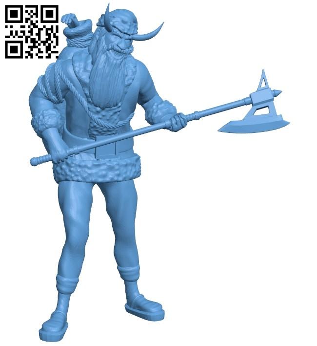 Mr Evil Santa B008343 file stl free download 3D Model for CNC and 3d printer