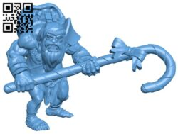 Mr Ogre B008352 file stl free download 3D Model for CNC and 3d printer