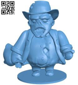 Mr Rich B008381 file stl free download 3D Model for CNC and 3d printer