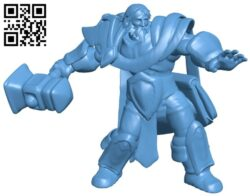 Mr uther cast repaired B008426 file stl free download 3D Model for CNC and 3d printer