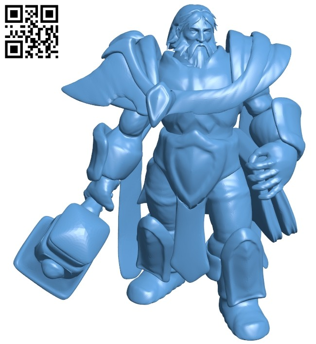 Mr uther stand repaired B008427 file stl free download 3D Model for CNC and 3d printer