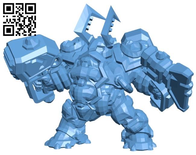 Murauderdin B008471 file stl free download 3D Model for CNC and 3d printer