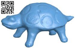 Ocarina – turtle B008354 file stl free download 3D Model for CNC and 3d printer