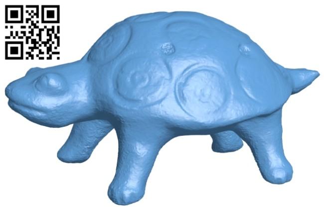 Ocarina - turtle B008354 file stl free download 3D Model for CNC and 3d printer