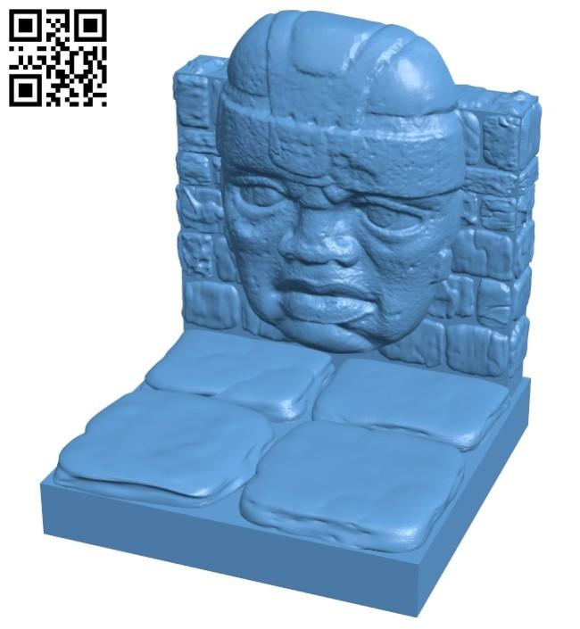 Olmec B008613 file stl free download 3D Model for CNC and 3d printer
