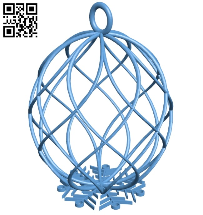 Palla pendant B008424 file stl free download 3D Model for CNC and 3d printer
