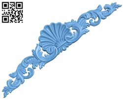 Pattern decor design A005642 download free stl files 3d model for CNC wood carving