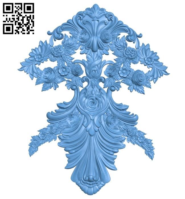 Pattern decor design A005432 download free stl files 3d model for CNC wood carving