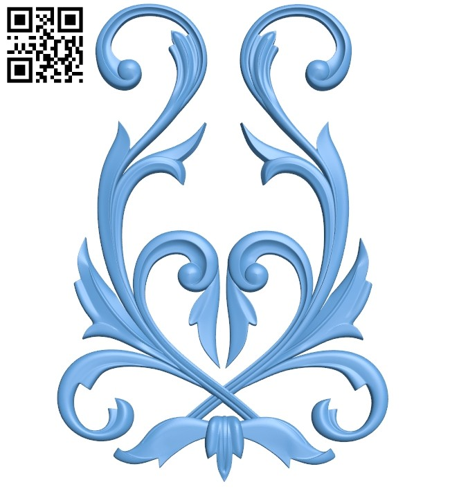 Pattern decor design A005456 download free stl files 3d model for CNC wood carving