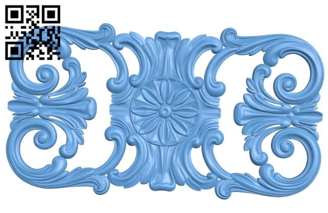 Pattern decor design A005457 download free stl files 3d model for CNC wood carving