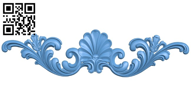 Pattern decor design A005459 download free stl files 3d model for CNC wood carving