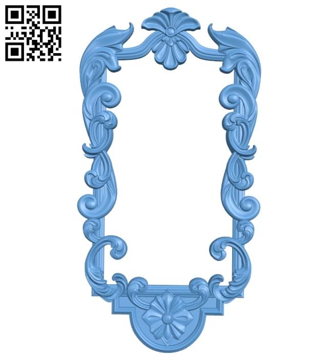 Pattern decor design A005461 download free stl files 3d model for CNC wood carving