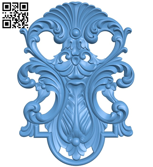 Pattern decor design A005472 download free stl files 3d model for CNC wood carving