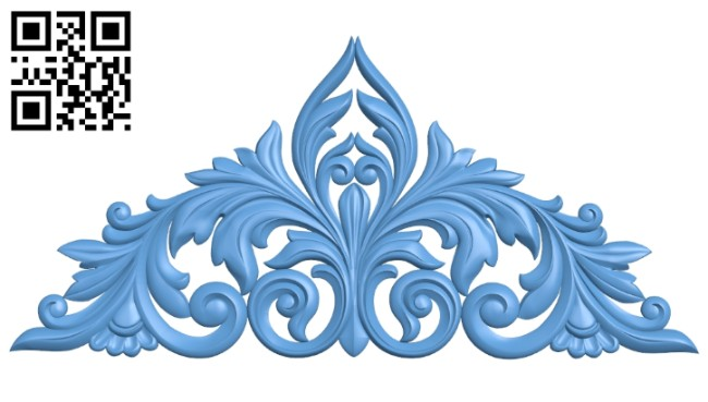 Pattern decor design A005474 download free stl files 3d model for CNC wood carving