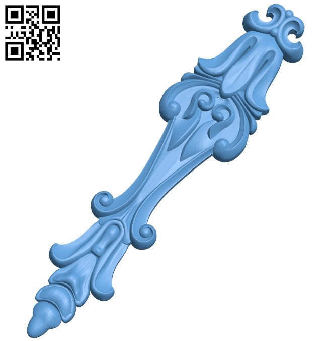 Pattern decor design A005519 download free stl files 3d model for CNC wood carving
