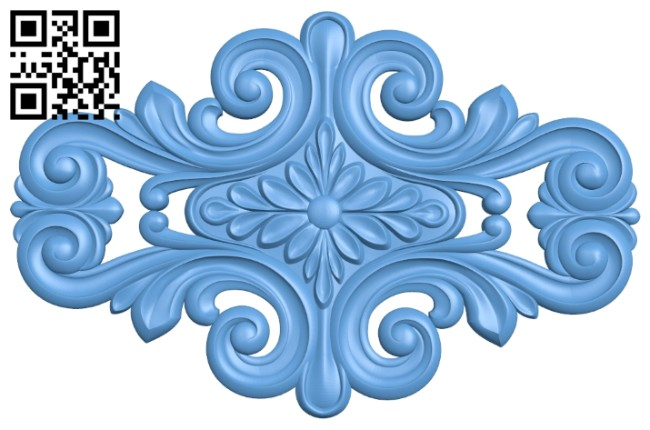 Pattern decor design A005520 download free stl files 3d model for CNC wood carving