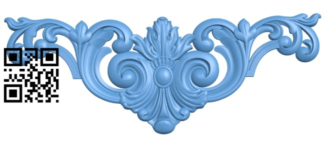 Pattern decor design A005522 download free stl files 3d model for CNC wood carving