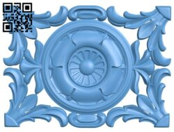 Pattern decor design A005536 download free stl files 3d model for CNC wood carving