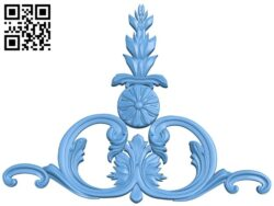 Pattern decor design A005537 download free stl files 3d model for CNC wood carving