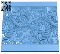 Pattern decor design A005543 download free stl files 3d model for CNC wood carving