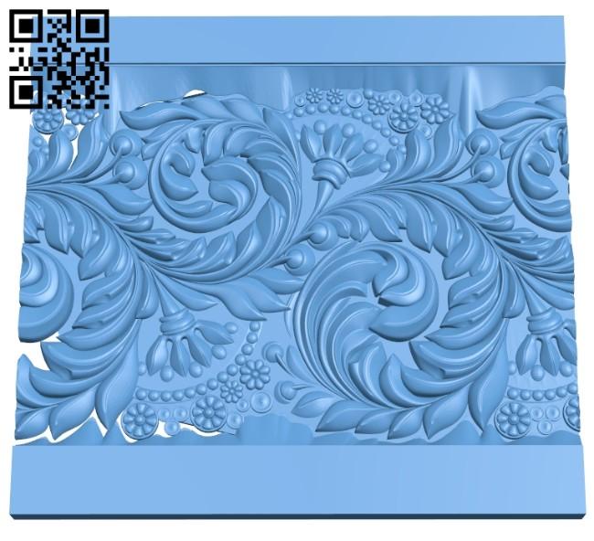 Pattern decor design A005543 download free stl files 3d model for CNC wood carving
