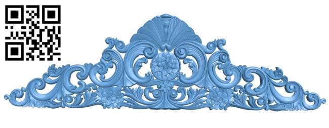 Pattern decor design A005557 download free stl files 3d model for CNC wood carving