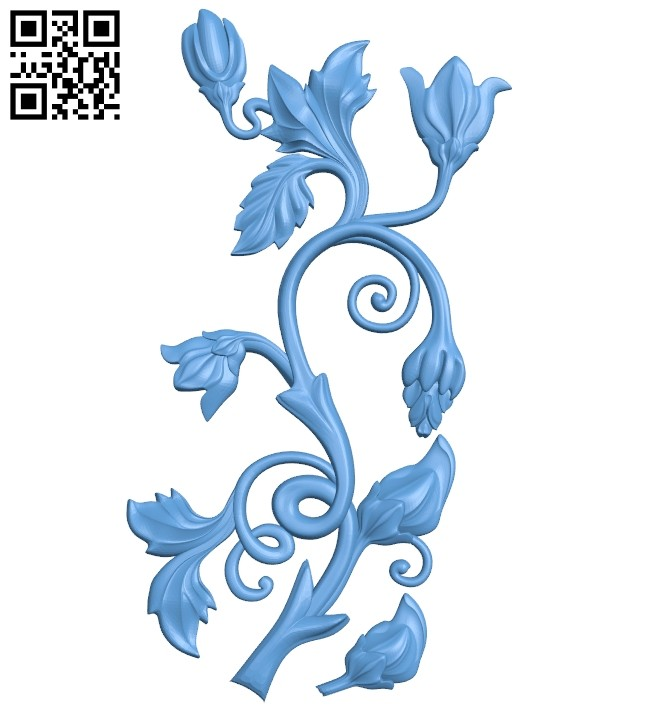 Pattern decor design A005558 download free stl files 3d model for CNC wood carving