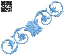 Pattern decor design A005559 download free stl files 3d model for CNC wood carving