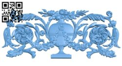 Pattern decor design A005598 download free stl files 3d model for CNC wood carving