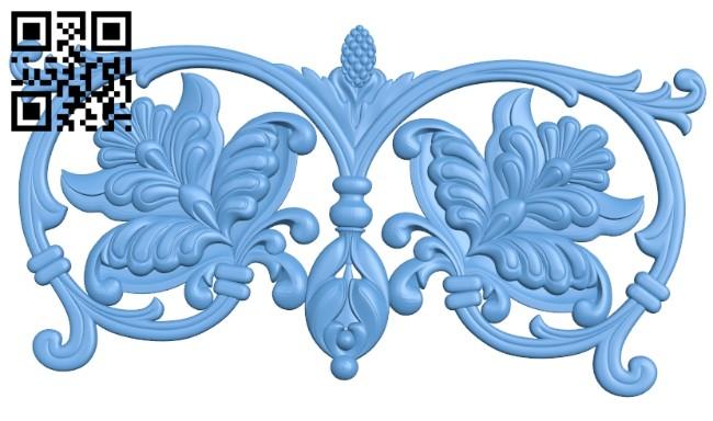 Pattern decor design A005599 download free stl files 3d model for CNC wood carving