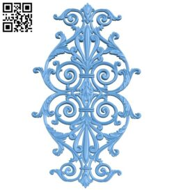 Pattern decor design A005600 download free stl files 3d model for CNC wood carving