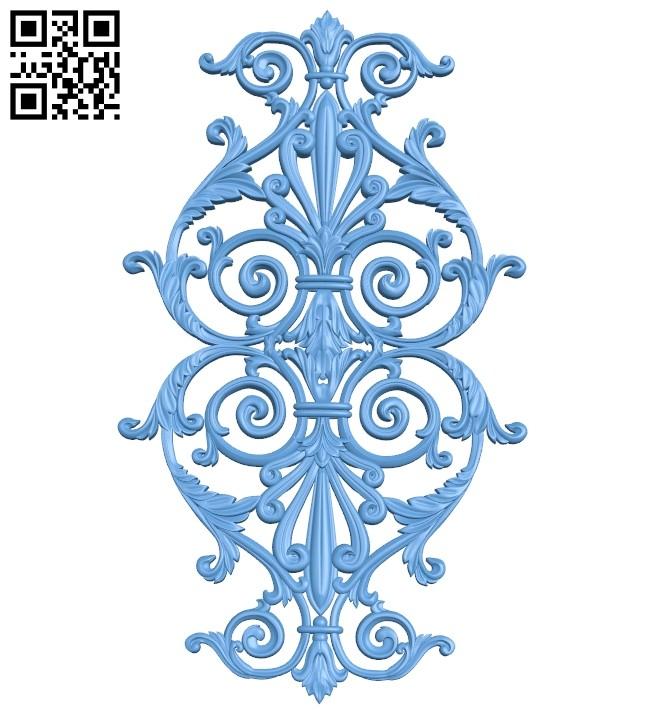 Pattern decor design A005600 download free stl files 3d model for CNC wood carving