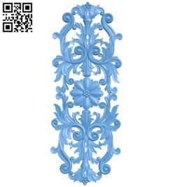 Pattern decor design A005601 download free stl files 3d model for CNC wood carving