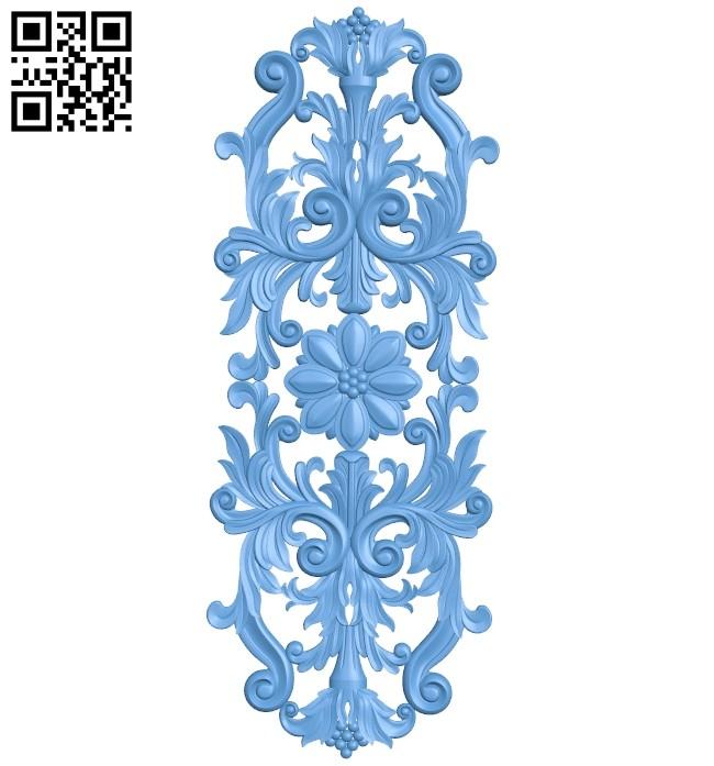 Pattern decor design A005601 download free stl files 3d model for CNC wood carving