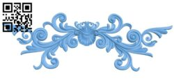 Pattern decor design A005603 download free stl files 3d model for CNC wood carving