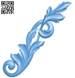 Pattern decor design A005604 download free stl files 3d model for CNC wood carving