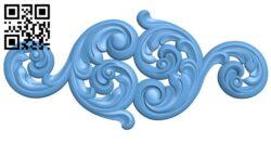 Pattern decor design A005647 download free stl files 3d model for CNC wood carving
