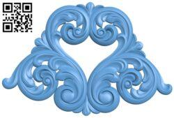 Pattern decor design A005649 download free stl files 3d model for CNC wood carving
