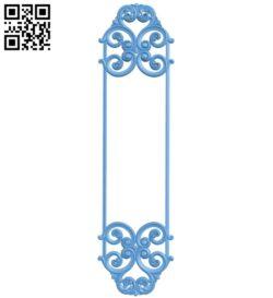 Pattern decor design A005650 download free stl files 3d model for CNC wood carving