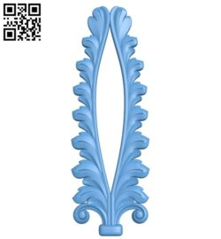 Pattern decor design A005651 download free stl files 3d model for CNC wood carving