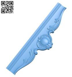 Pattern decor design A005654 download free stl files 3d model for CNC wood carving