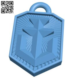 Pendant B008568 file stl free download 3D Model for CNC and 3d printer