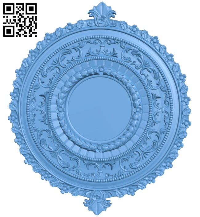 Picture frame or mirror A005530 download free stl files 3d model for CNC wood carving